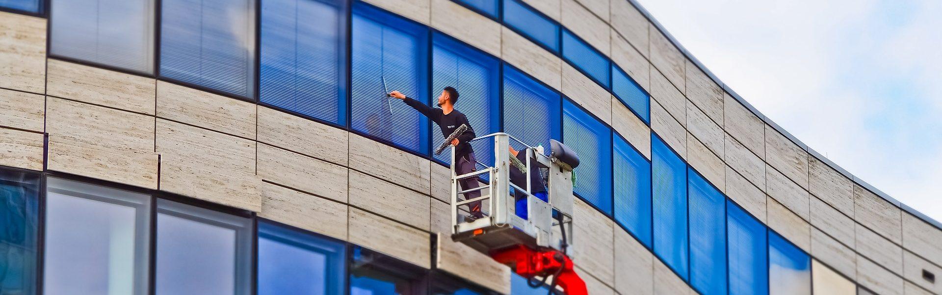 Mitarbeiter Christoffers Glas- & Gebäudereinigung